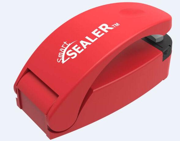 אוטם שקיות פלסטיק וניילון מקצועי - Smart Sealer- פטנט עולמי, מונע חדירת לחות   פועל על סוללות   צבעים לבחירה_אדום, , large image number null