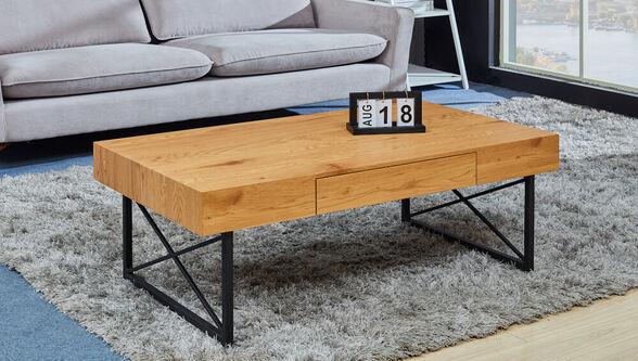 שולחן סלון מעץ דגם DENVER בעיצוב מודרני יפה להפליא קל לניקוי כולל רגליים בצורת איקס יציבות ועמידות, , large image number null