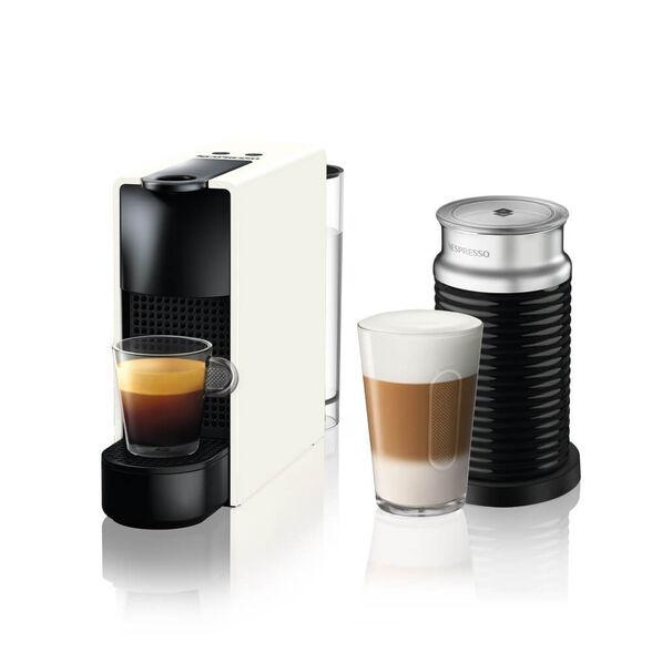 מכונת קפה Nespresso אסנזה מיני בצבע לבן דגם C30 כולל מקציף חלב ארוצ'ינו , , large image number null