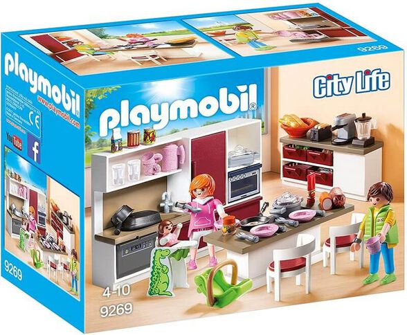 Playmobil פליימוביל מטבח חדש 9269, , large image number null